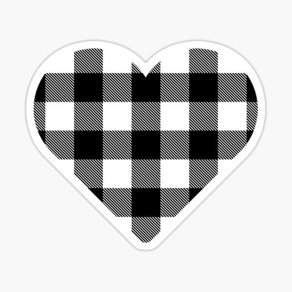 Lumberjack - White/Black Sticker