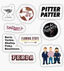 Ultimate Letterkenny Sticker Pack and Sock Bonanza Sticker