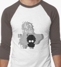 The Villain in Glasses Men's Baseball ¾ T-Shirt