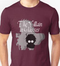 Camiseta ajustada El villano en gafas