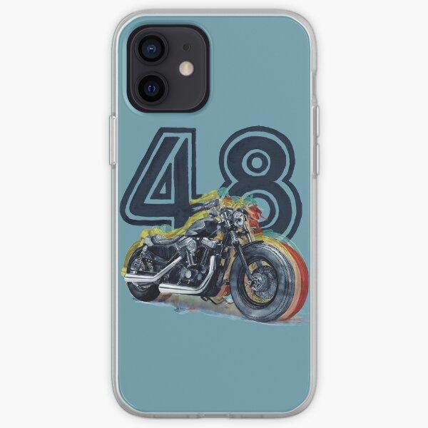 Harley Davidson 48 Coque souple iPhone