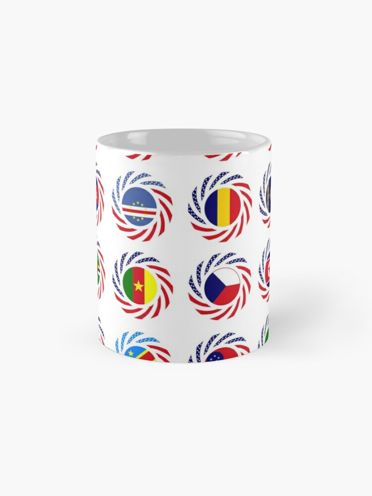 Alternate view of We Are America Multinational Patriot Flag Collective 2.0 Mug