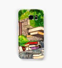 Falling Books Samsung Galaxy Case/Skin