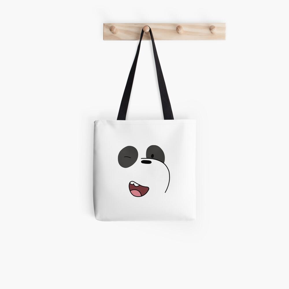 Panda - We Bare Bears  Tote Bag