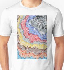 WAVVES BREAK - LARGE FORMAT - VERTICAL LAYOUT T-Shirt