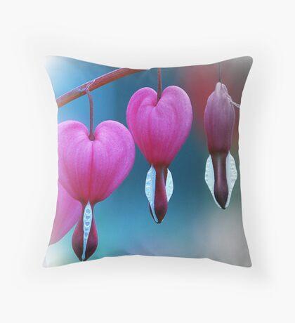 Lamprocapnos spectabilis Throw Pillow