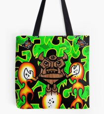 Tiki Defeats CO2 Devils Tote Bag