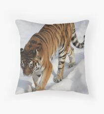 prowling along 2 Throw Pillow