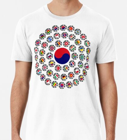 We Are Korea Multinational Patriot Flag Collective 1.0 Premium T-Shirt
