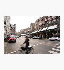 Amsterdam Rush Photographic Print