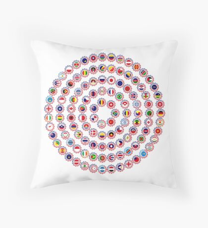 We Are America Multinational Patriot Flag Collective 1.0 Floor Pillow