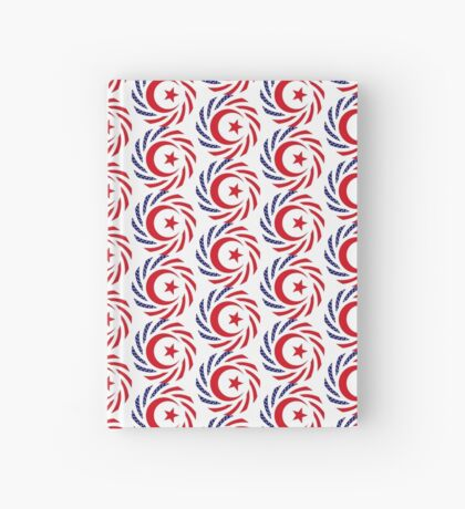 Muslim American Multinational Patriot Flag Series 1.0 Hardcover Journal