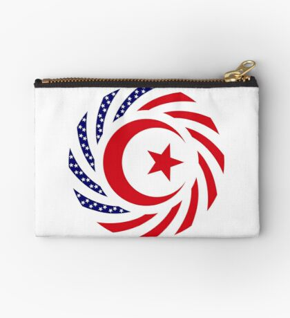 Muslim American Multinational Patriot Flag Series 1.0 Zipper Pouch