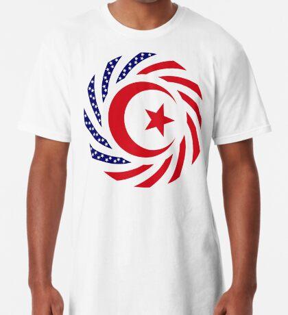 Muslim American Multinational Patriot Flag Series 1.0 Long T-Shirt