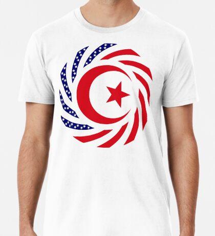 Muslim American Multinational Patriot Flag Series 1.0 Premium T-Shirt