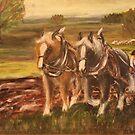 Working Horses  by Birgit Schnapp