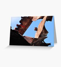 Protective sculpture Greeting Card