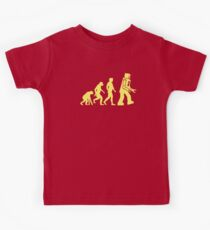 Sheldon Robot Evolution Kids Clothes