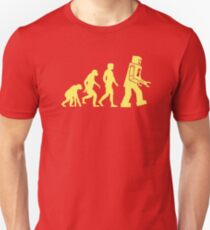 Sheldon Robot Evolution Unisex T-Shirt