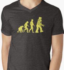 Sheldon Robot Evolution Men's V-Neck T-Shirt