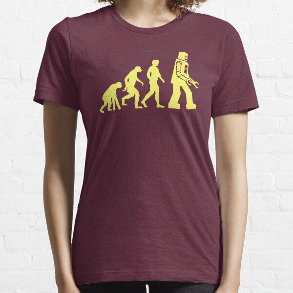 Sheldon Robot Evolution Essential T-Shirt
