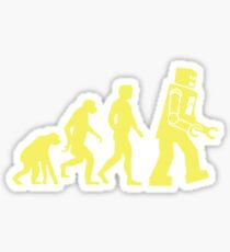 Sheldon Robot Evolution Sticker
