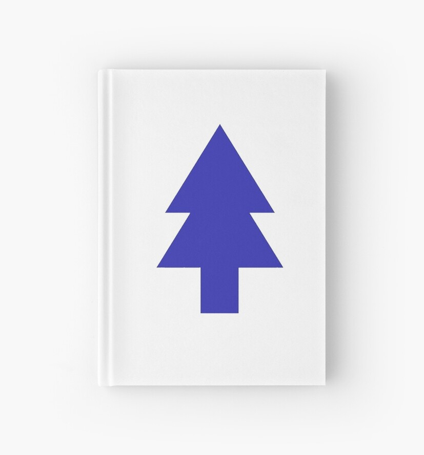 Quot Pine Tree From Dipper S Hat Quot Hardcover Journal By Bambi
