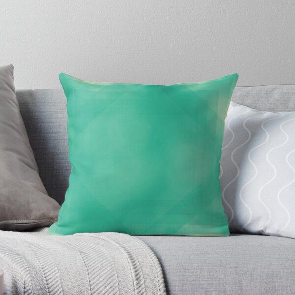 Teal Daze Throw Pillow