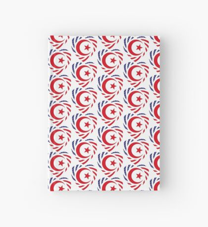 Muslim American Multinational Patriot Flag Series Hardcover Journal