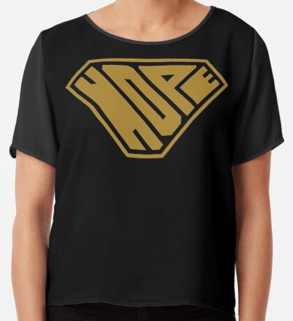 Hope SuperEmpowered (Gold) Chiffon Top