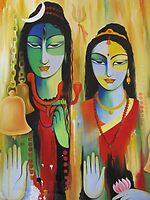 SHIV-PARVATI by kirandeep
