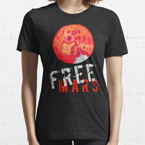 Free Mars Revisited Essential T-Shirt