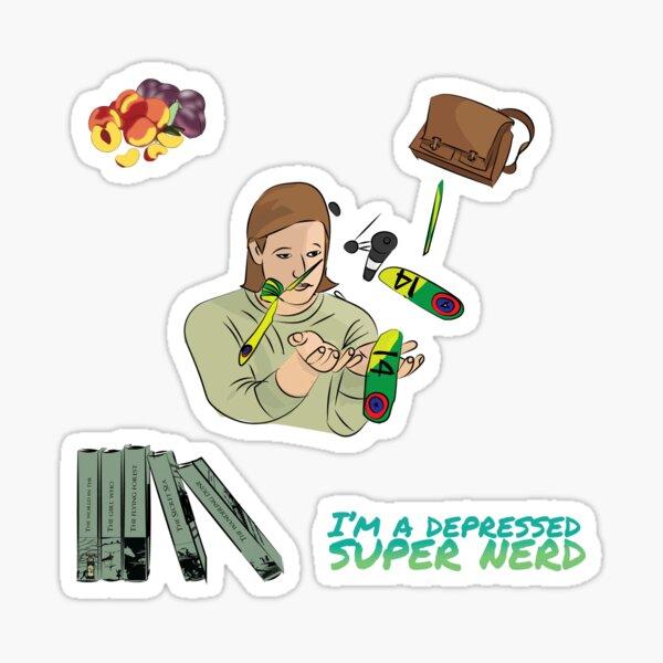 Quentin Coldwater Sticker Set Sticker