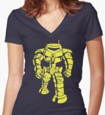 Sheldon Bot Women's Fitted V-Neck T-Shirt