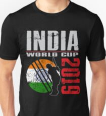 Indien Cricket World Team Supporter Championship Cup Kontakt Sportfans Tshirts Sport Geschenk 2019 Slim Fit T-Shirt