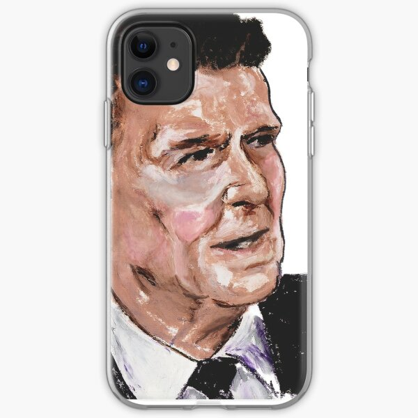 Ronald Reagan Picture Quote - What History Teaches iPhone Soft Case