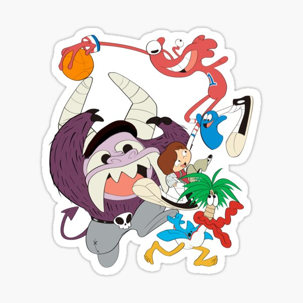 Welcome to Foster's Home for Imaginary Friends! Sticker