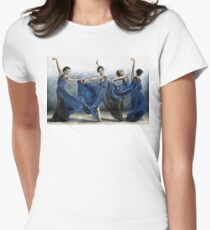Sequential Dancer Women's Fitted T-Shirt