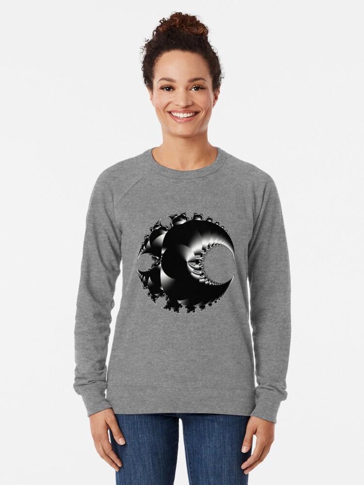 Alternate view of Mandelbrot 20190507-014 Lightweight Sweatshirt
