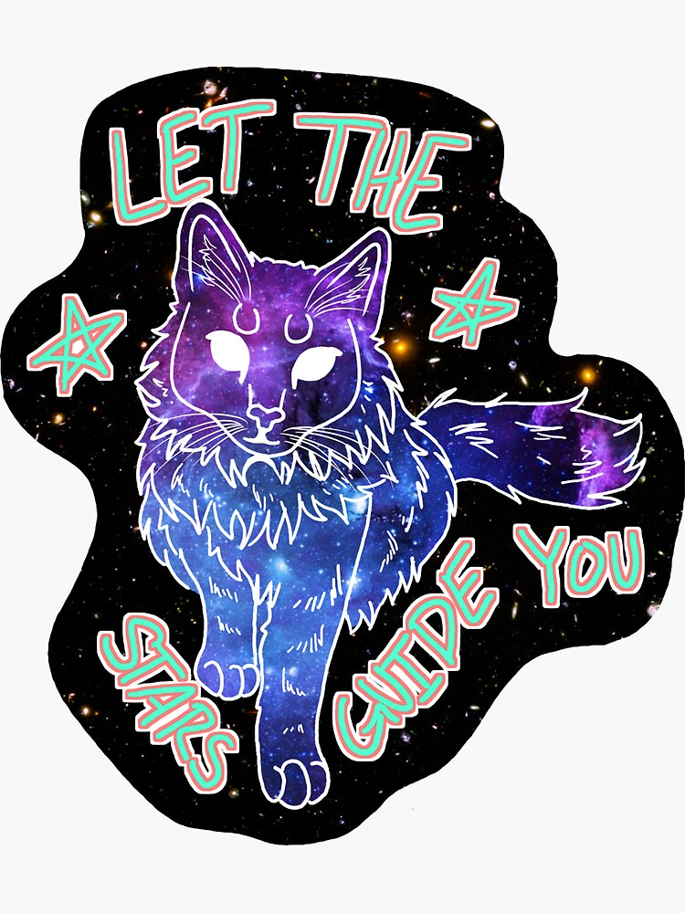 Galaxy Cat by klovesbunnies