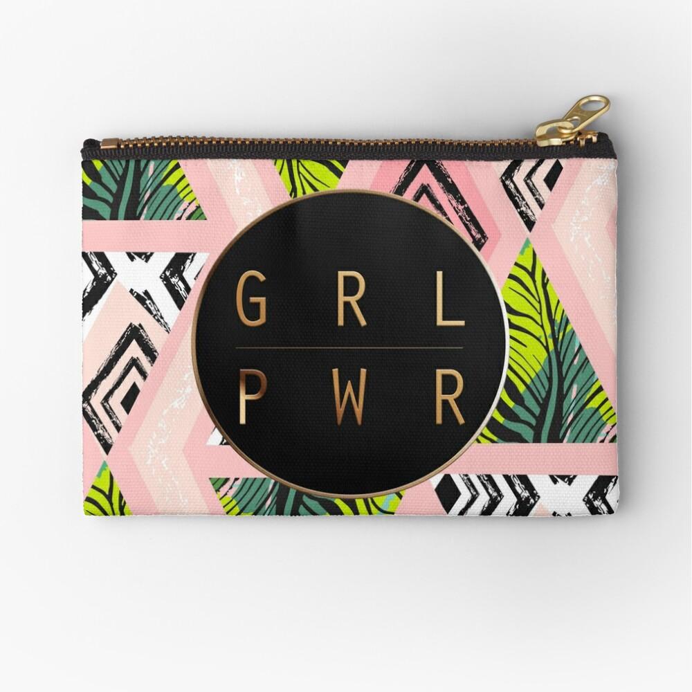 GIRL POWER Zipper Pouch