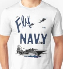 Fly Navy Unisex T-Shirt