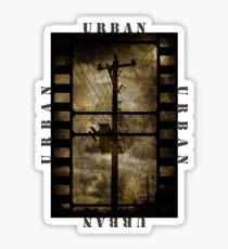 Urban T-shirt Sticker