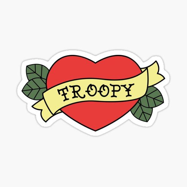 Troopy Love Sticker