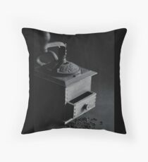 Old grinder Throw Pillow