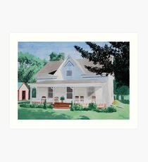 Country House Art Print