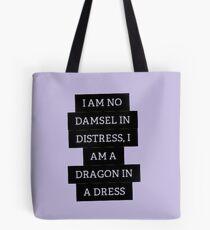 Damsel in Distress Tote Bag