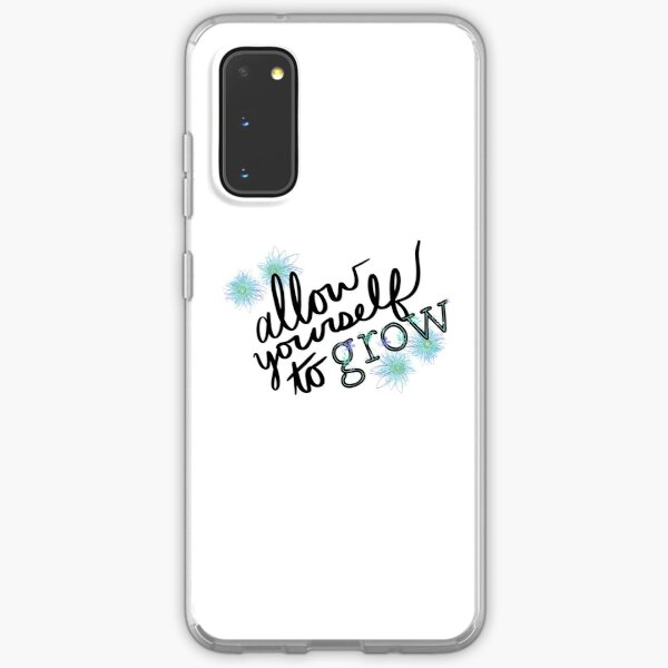 Allow Yourself to Grow Flower Samsung Galaxy Soft Case