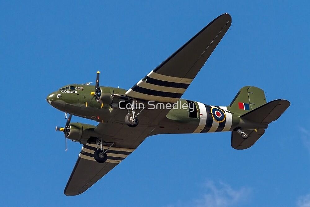 """Douglas Dakota C.3 ZA947 """"Kwischerbischen"""" by Colin Smedley"""