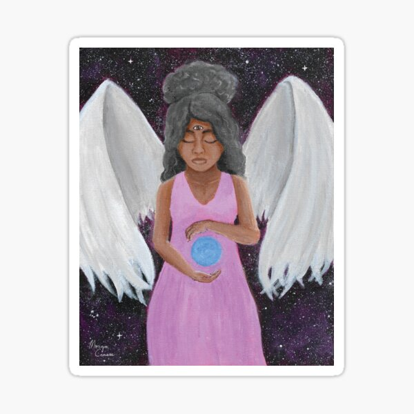 Angel of Clarity Sticker
